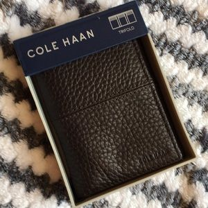 Cole Haan Trifold Leather Wallet